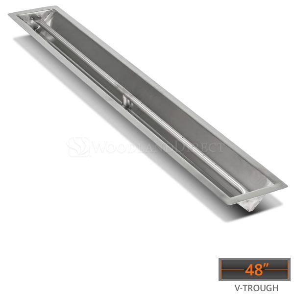 "Linear Trough Drop-in Burner System - 48"" Match Lit image number 0"