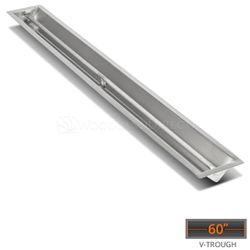 "Linear Trough Drop-in Burner System - 60"" Match Lit"