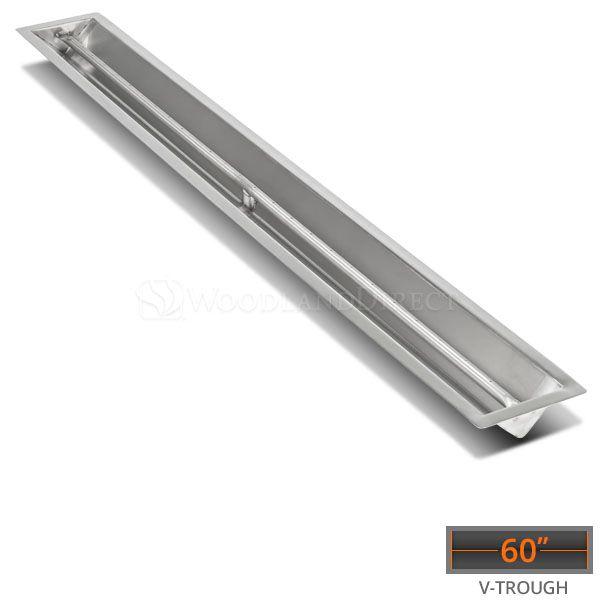 "Linear Trough Drop-in Burner System - 60"" Match Lit image number 0"