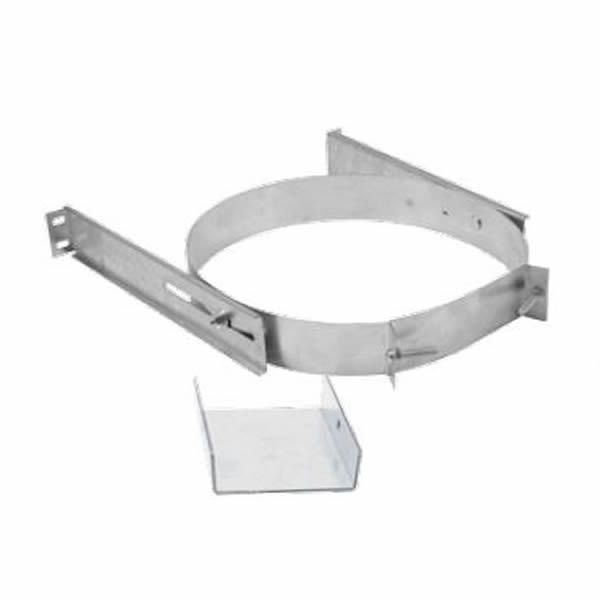 """5""""-7"""" DuraTech Stainless Steel Adjustable Wall Support image number 0"""