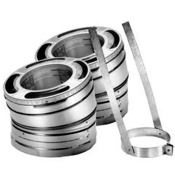 "6"" DuraPlus 30º Stainless Steel Elbow Kit image number 0"
