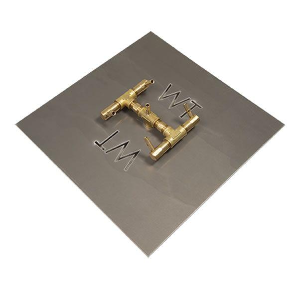 """60,000 BTU Square Electronic Crossfire Burner System - 18"""" image number 0"""