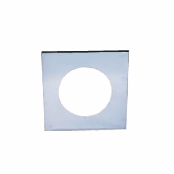 """7"""" Champion 430 Stainless Steel Pass-Through Cover Plate image number 0"""