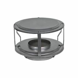 "7"" Champion 430 Stainless Steel Wide Open-Style Rain Cap"