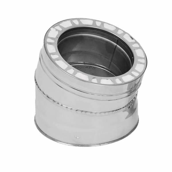 """7"""" Champion 15 Degree 316L Stainless Steel Elbow image number 0"""