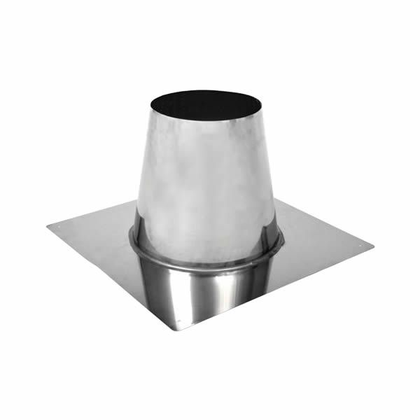"7"" Champion 304L Stainless Steel Flat Roof Flashing image number 0"