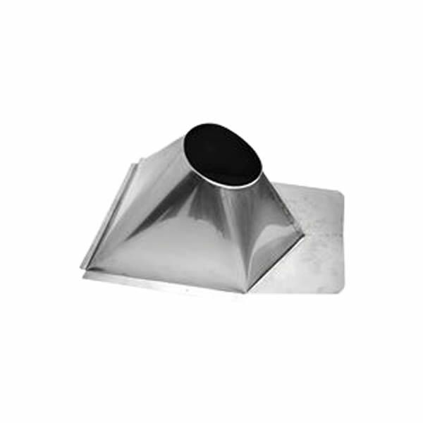 "7"" Champion 304L SS 0/12 to 6/12 Metal Roof Flashing image number 0"