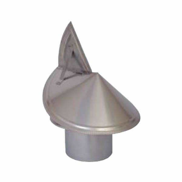 """7"""" Champion 340L Stainless Steel Wind Directional Rain Cap image number 0"""