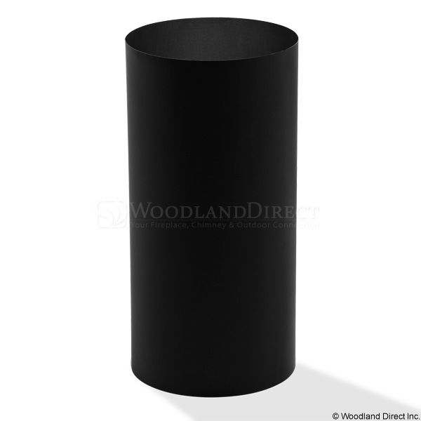 """7"""" Champion Black Round Ceiling Support - 24"""" Extension image number 0"""