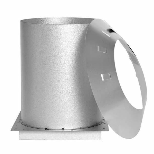 "7"" Champion Galvanized Attic Insulation Shield Extension image number 0"