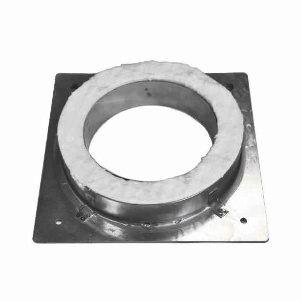 """7"""" Champion Galvanized Fireplace Anchor Plate image number 0"""