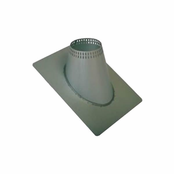 """7"""" Champion Galvalume 7/12 to 12/12 Vented Roof Flashing image number 0"""