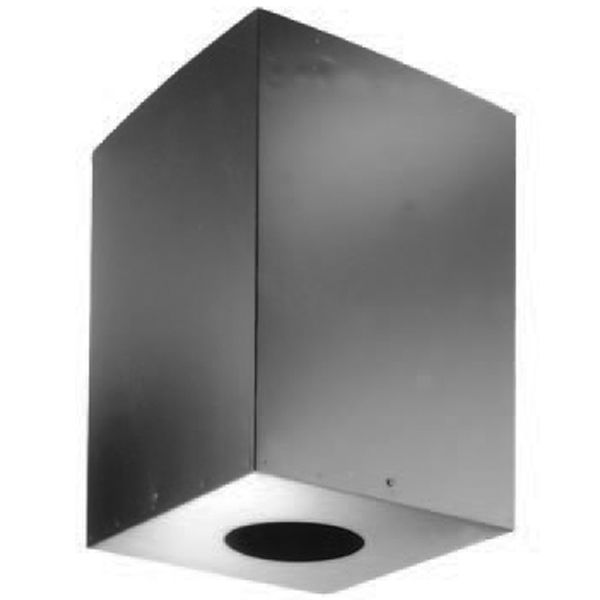 "7"" DuraPlus Square Ceiling Support Box 24"" height image number 0"