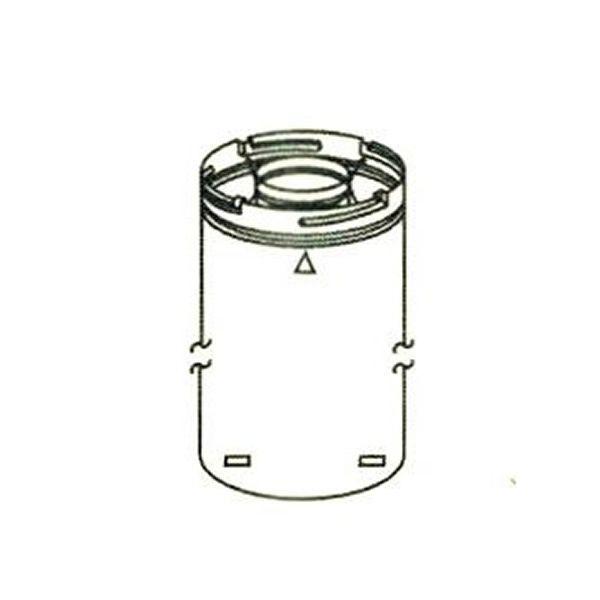 """8"""" Diameter Superior Direct Vent Pipe - 48"""" image number 0"""