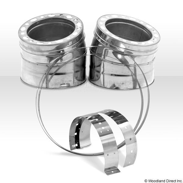 """8"""" Champion 15º 304L Stainless Steel Elbow Kit image number 0"""