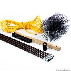 "8"" Chimney Brush Kit"
