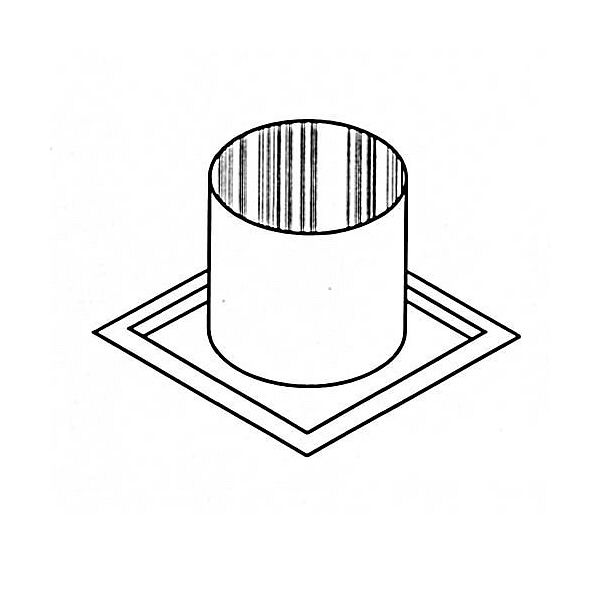 "8"" Diameter Superior Firestop Thimble For Offsetting Joist image number 0"