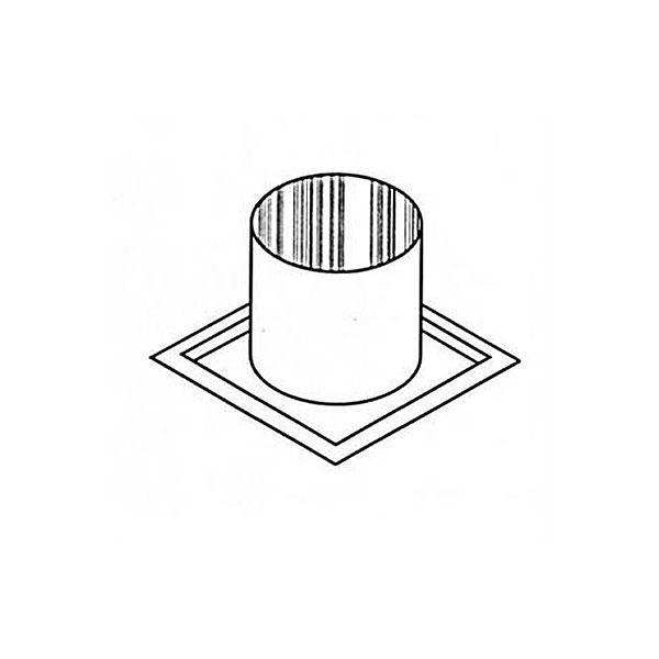 "8"" Diameter Superior Firestop Thimble For Penetrating Joist image number 0"
