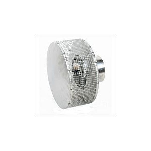 """8"""" Diameter Superior Round Top with Mesh Screen image number 0"""