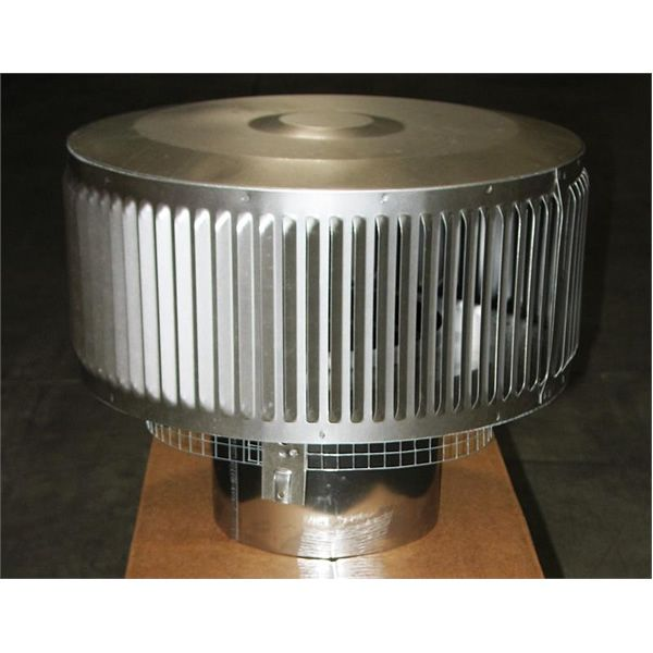 "8"" Diameter Superior Wood-Burning HT Round Top with Louvers image number 0"
