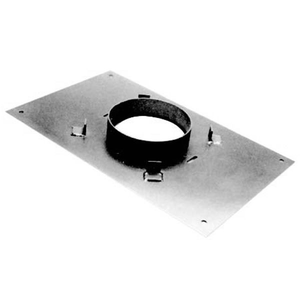 """8"""" DuraTech Transition Anchor Plate 17""""x14"""" image number 0"""