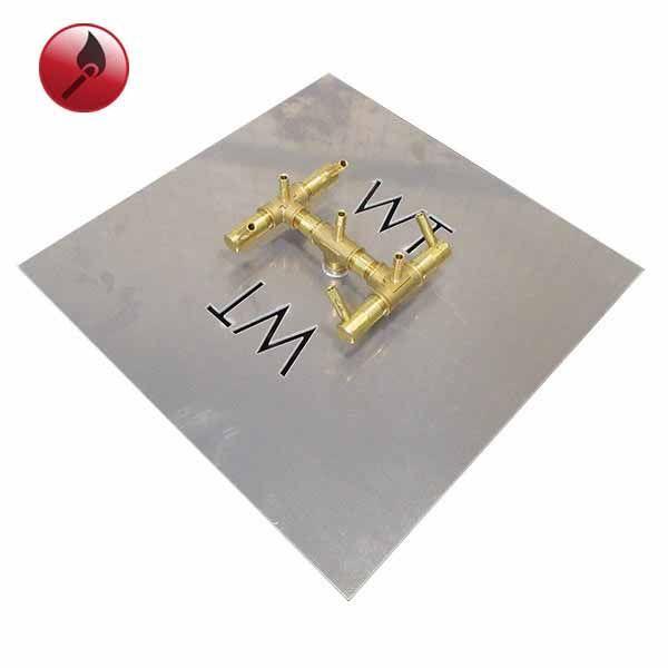 """84K BTU Square Match Lit Crossfire Burner System - 18"""" image number 0"""