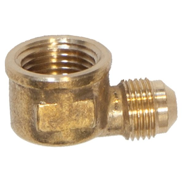 90° Brass Fitting for Aluminum Gas Connector image number 0