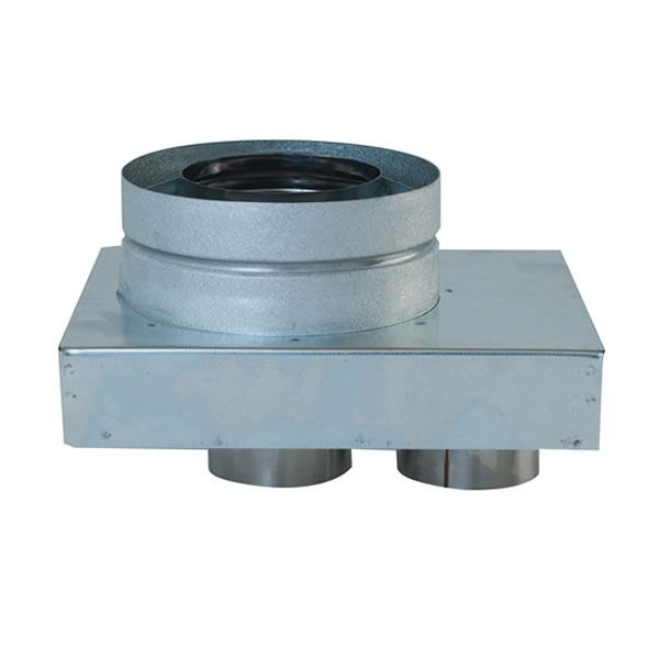 Co-Linear Appliance Adapter for Direct Vent Pipe image number 0