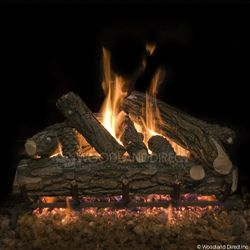 Country Oak Deluxe Vented Gas Logs Only