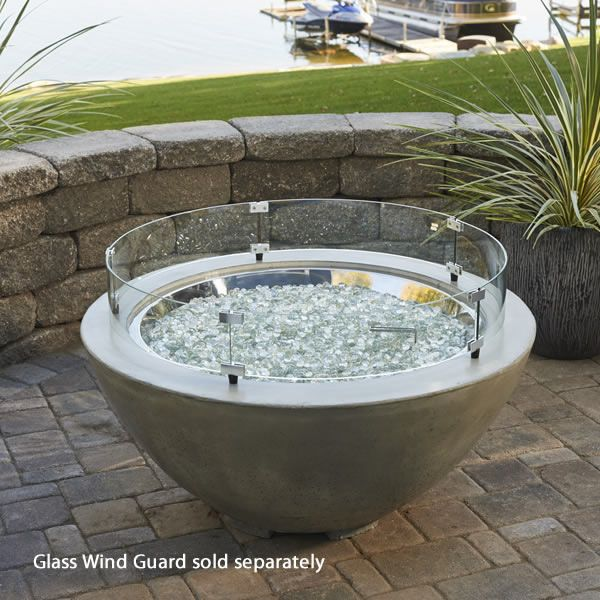 """Cove Gas Fire Bowl - 42"""" image number 0"""