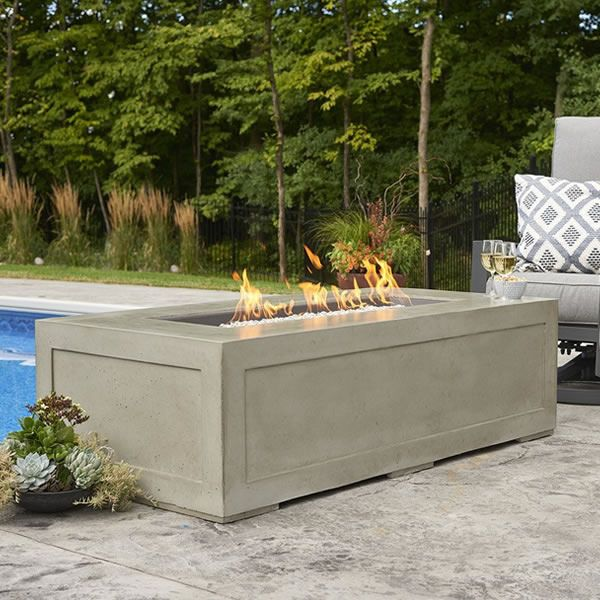Cove Linear Gas Fire Pit image number 0