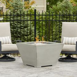 Cove Square Gas Fire Pit Table