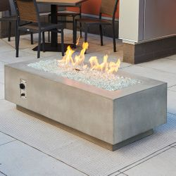 "Cove 54"" Linear Gas Fire Table"