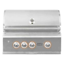 Coyote S-Series Built-In Gas Grill - 30""