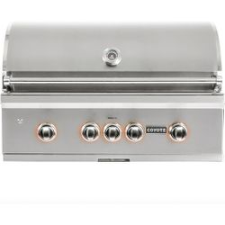 Coyote S-Series Built-In Gas Grill - 36""
