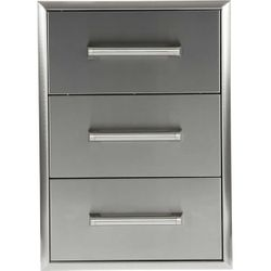 Coyote Three-Drawer Cabinet - 17""