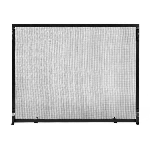 "Colonial Flat Fireplace Screen - 50"" x 36"" image number 0"