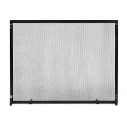 "Colonial Flat Fireplace Screen - 50"" x 36"""