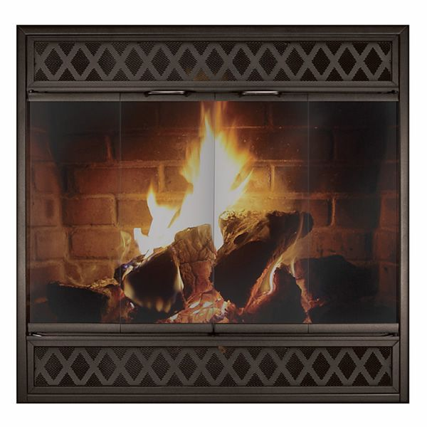 Complete Reface Zero Clearance Fireplace Door image number 0