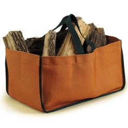 Pueblo Brown Log Carrier