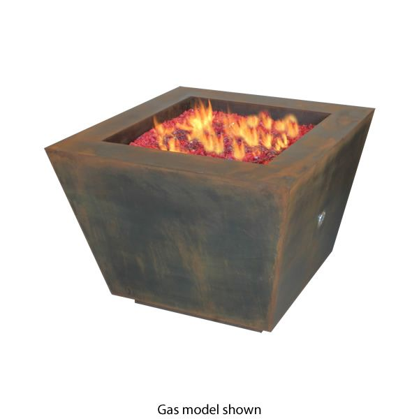 "Cono Fia 33"" Wood Burning Fire Pit image number 0"