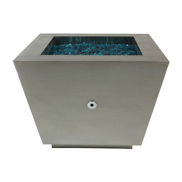 Cono Fia Stainless Steel Gas Fire Pit image number 1