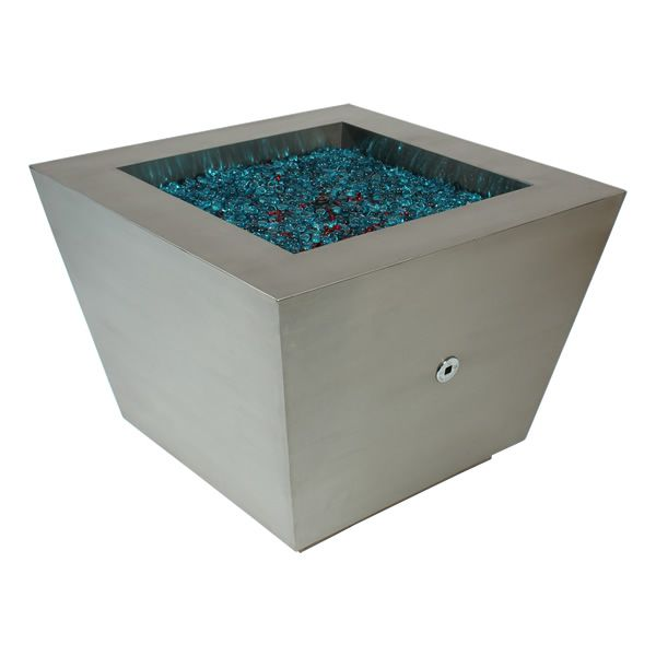 Cono Fia Stainless Steel Gas Fire Pit image number 2