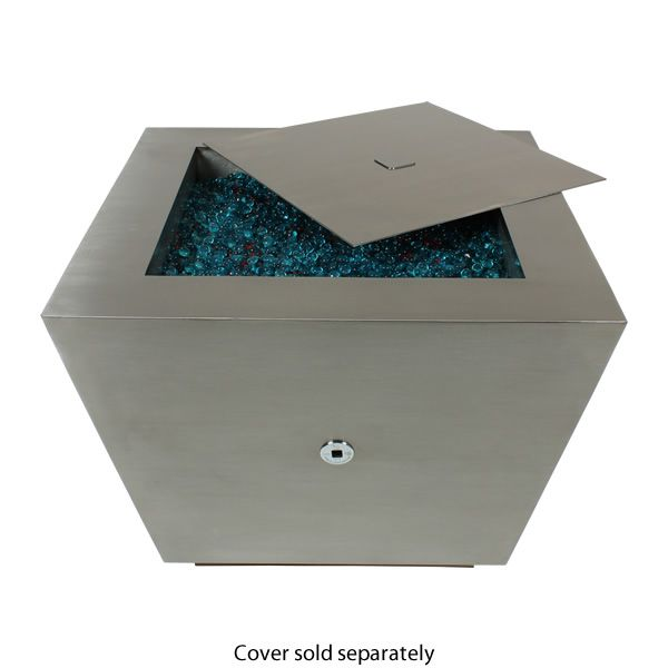 Cono Fia Stainless Steel Gas Fire Pit image number 3