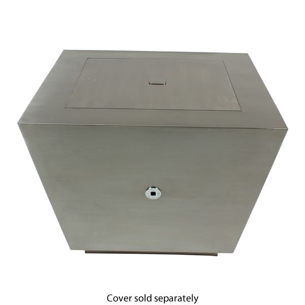 Cono Fia Stainless Steel Gas Fire Pit image number 4