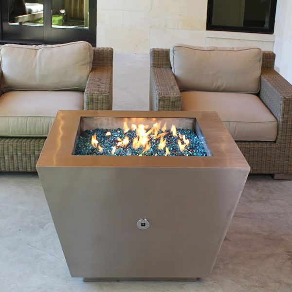 Cono Fia Stainless Steel Gas Fire Pit image number 5