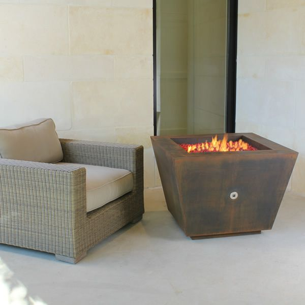 Cono Fia Steel Gas Fire Pit image number 4