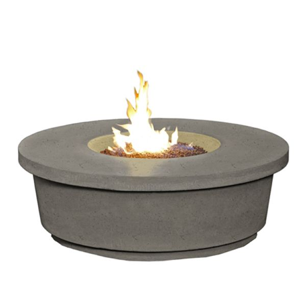 Contempo Round Gas Fire Pit Table image number 1