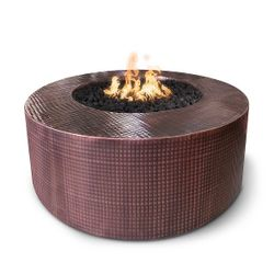 Unity Hammered Copper Fire Pit