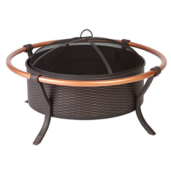 Copper Rail Fire Pit image number 0